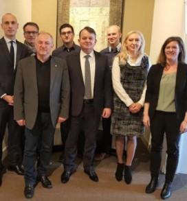 Radni sastanak gradskih vlasti Mannheima sa predstavnicima GK Štutgart